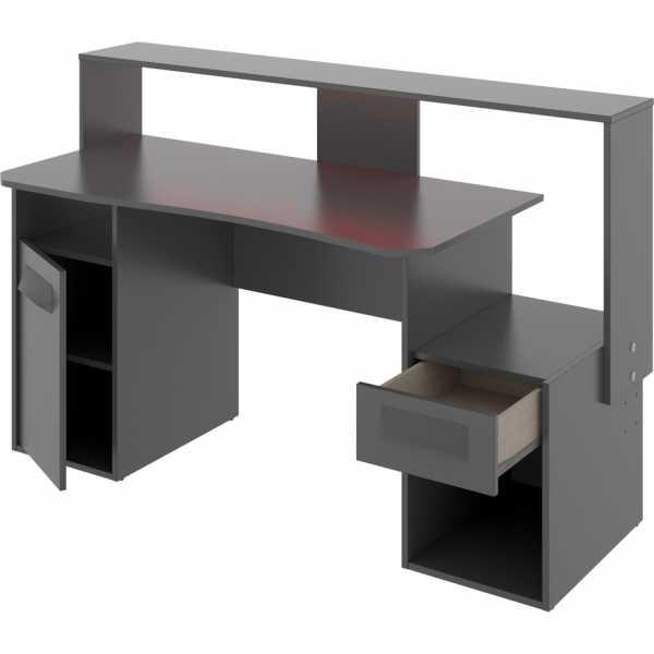escritorio gaming con leds 2