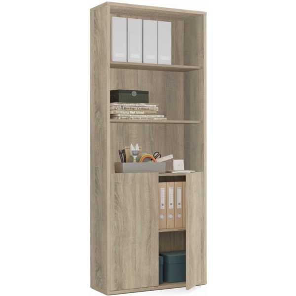 estanteria 2 puertas