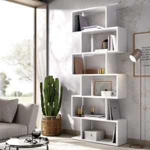 estanteria alta blanca 1