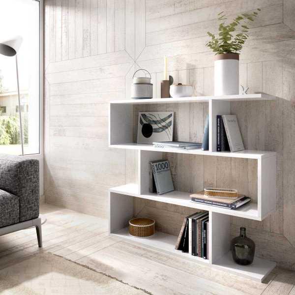 estanteria baja blanca 2