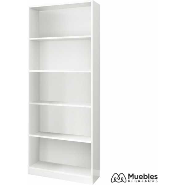 estanteria blanca alta 005626a