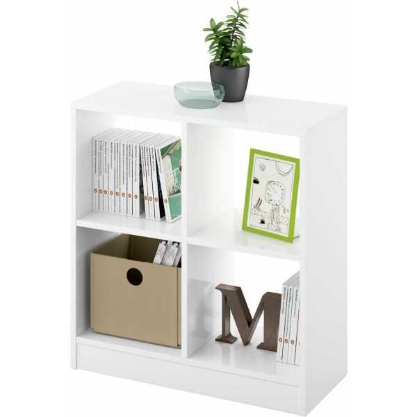 estanteria cubo 2x2 Turin blanca