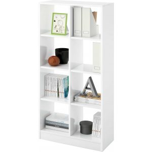 estanteria cubos 2x4 blanca