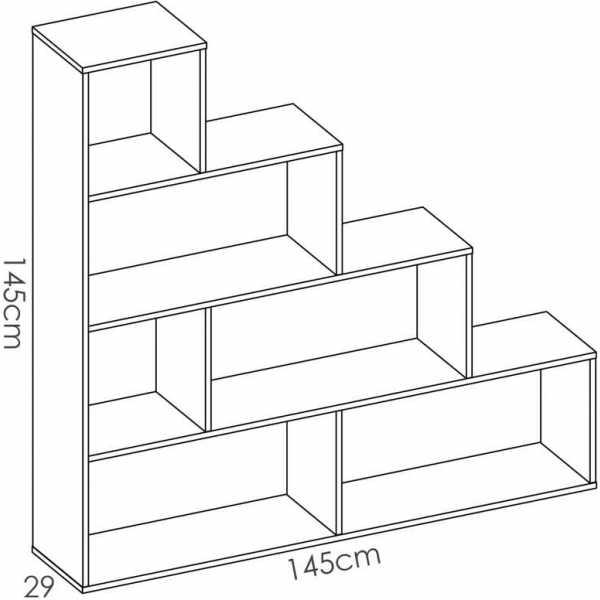 estanteria escalera 5