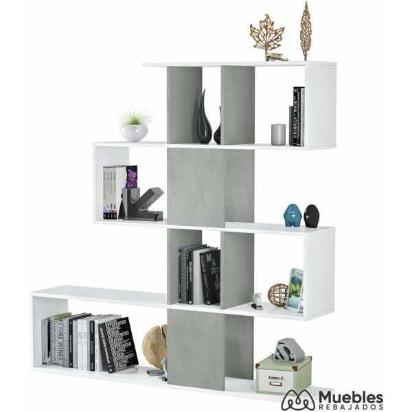 estanterias con cajas de madera 1l2251a