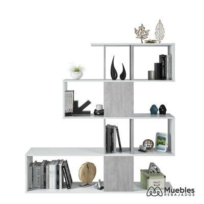 estanterias con cajas de madera cemento 1l2251a