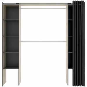 kit vestidor con cortina 7