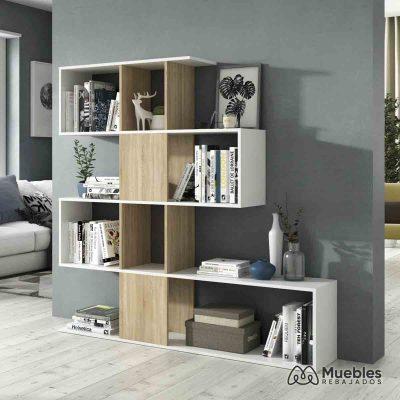 Librería estantería nórdica 1f2251a