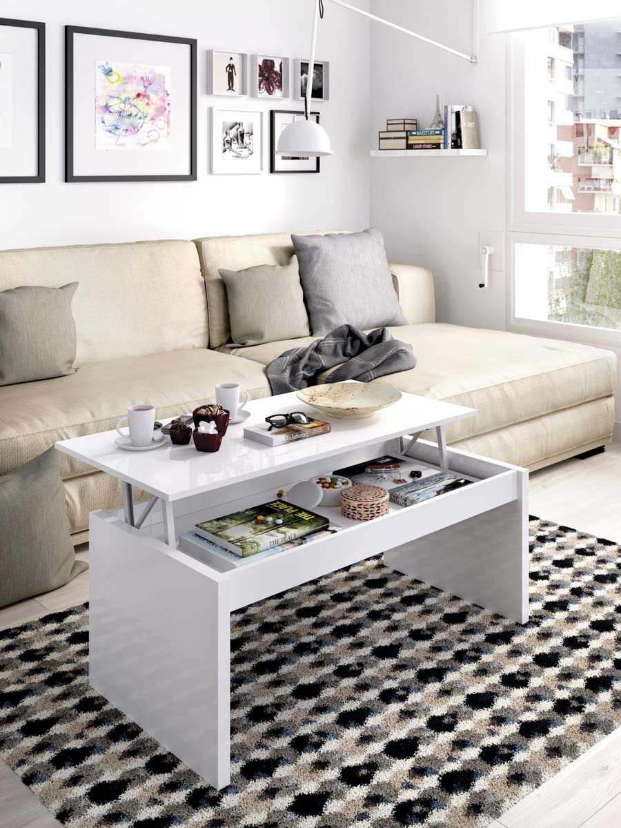 mesa centro blanco brillo 1