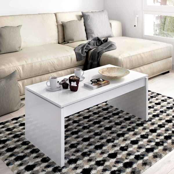 mesa centro blanco brillo 3