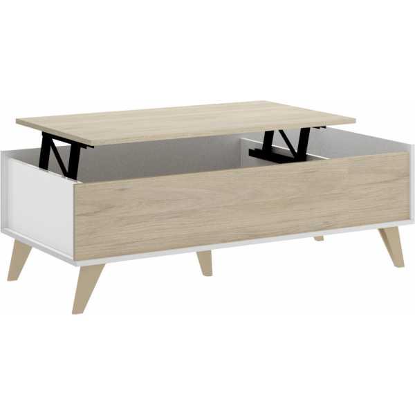 mesa centro elevable con hueco 1