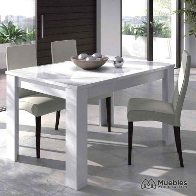 Mesa comedor de madera 140 -190 cm 004586bo