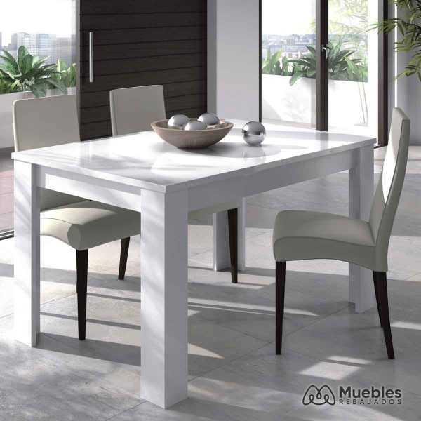 mesa comedor de madera 140 190 cm 004586bo