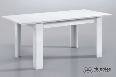 mesa comedor de madera extensible 004586bo