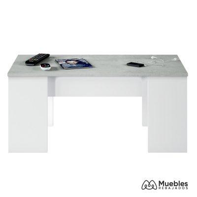 mesa de centro moderna blanca 0l1640a