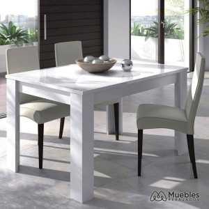 mesa de comedor blanca 004586a