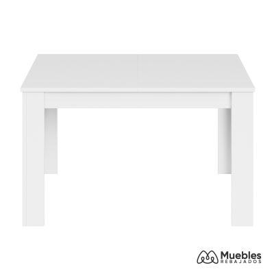 mesa de comedor blanca madera 004586ax
