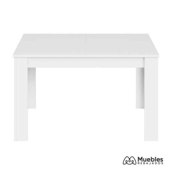 mesa de comedor blanca extensible 140 004586a