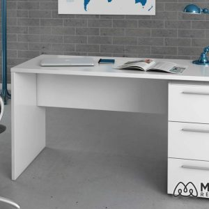 mesa de oficina barata blanca 004605a