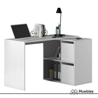 mesa de oficina barata con cubos 008311a