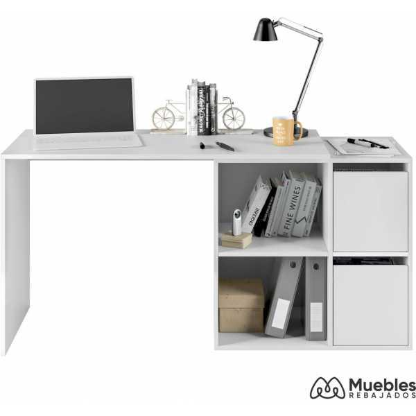 mesa de oficina blanca adaptable 008311a