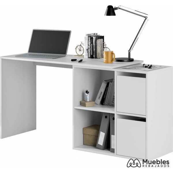 mesa de oficina blanca multiposicion 008311a