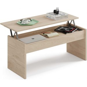 mesa elevable abierta