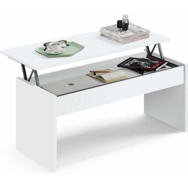 mesa elevable blanca 1033