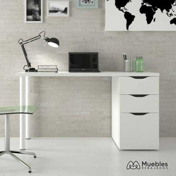 mesa escritorio blanca 004604a