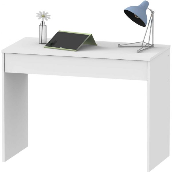 mesa estudio blanca