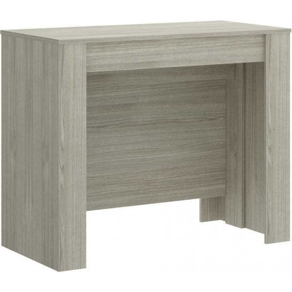 mesa extensible gris con 5 posiciones 7