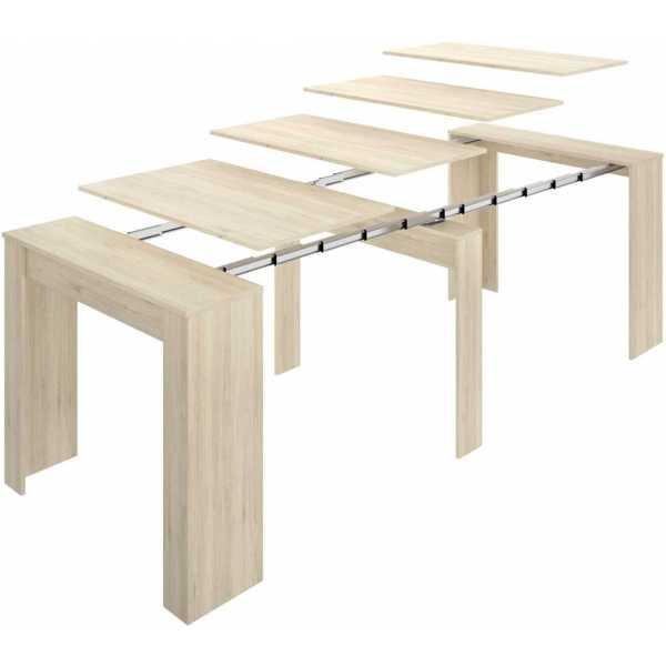 mesa extensible madera 5 posiciones 5