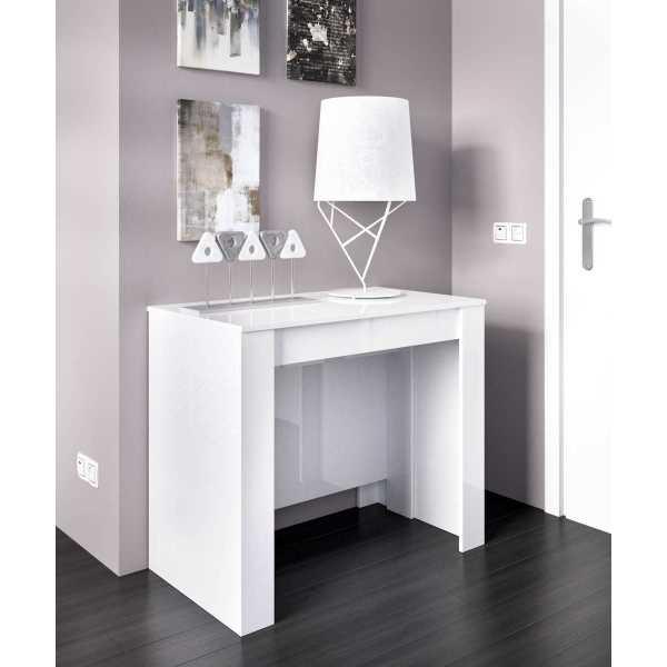 mesa multifuncional blanco brillo 3