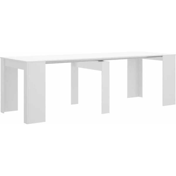 mesa multifuncional blanco brillo 4