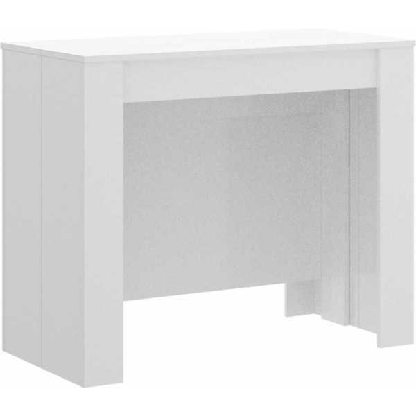 mesa multifuncional blanco brillo 6