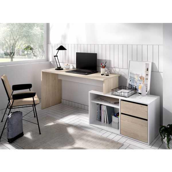 mesa oficina blanco natural 10