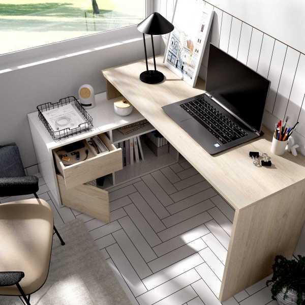mesa oficina blanco natural 11