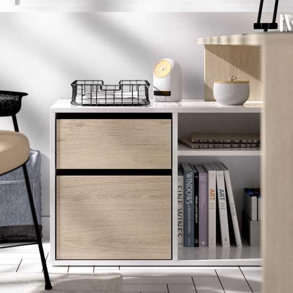 mesa oficina blanco natural 12