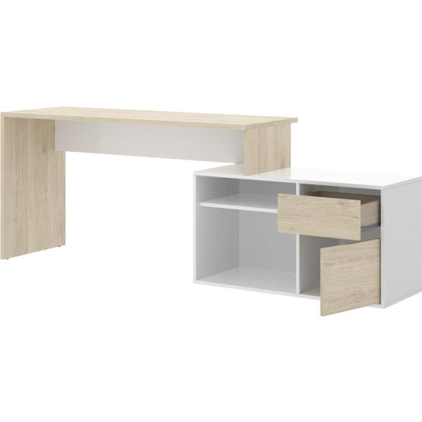 mesa oficina blanco natural 14