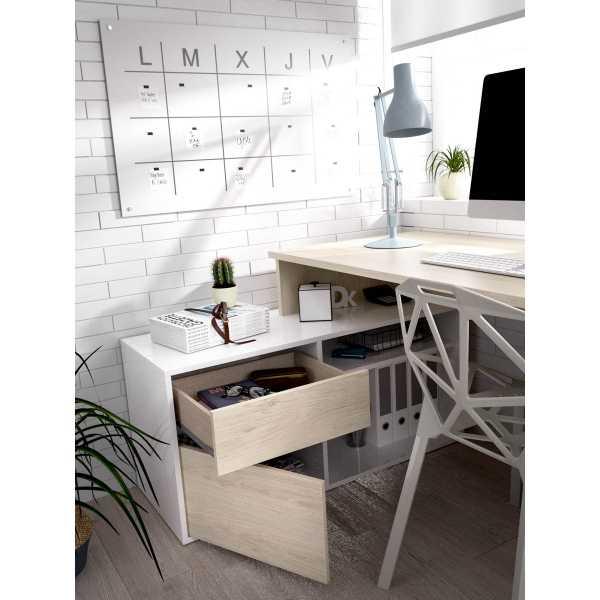 mesa oficina blanco natural 20
