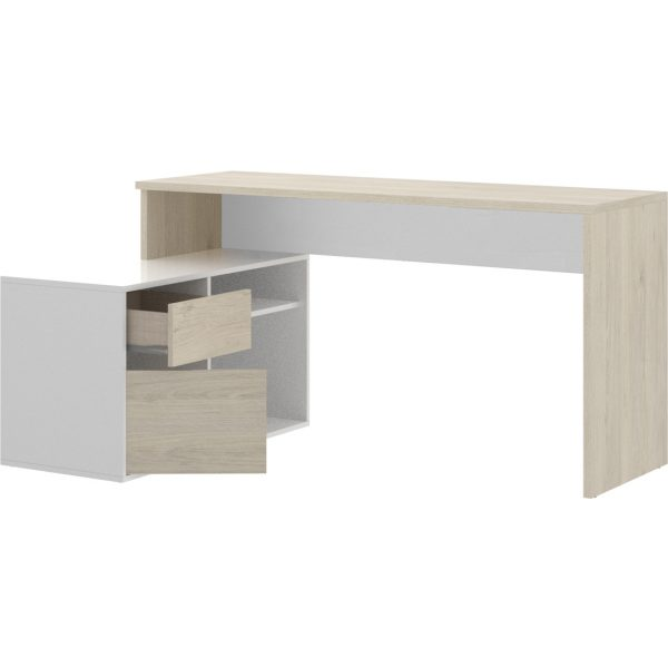 mesa oficina blanco natural 5