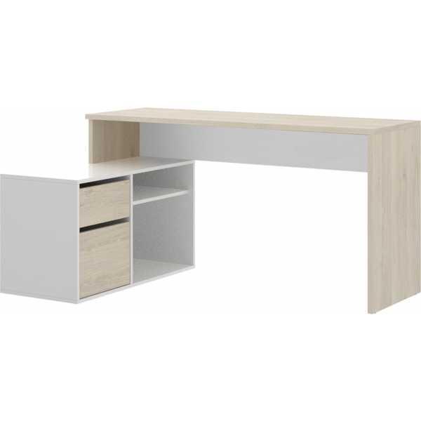 mesa oficina blanco natural 6