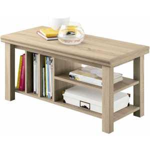 mesa revistero madera