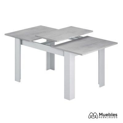 mesas de comedor modernas color cemento 0l4586a