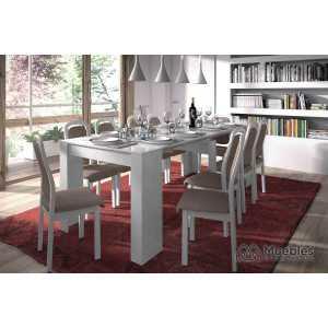 mesas de comedor modernas extensibles 004580bo