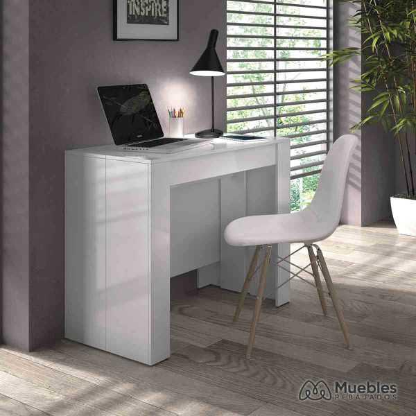 mesas de comedor modernas extensibles escritorio 004580bo