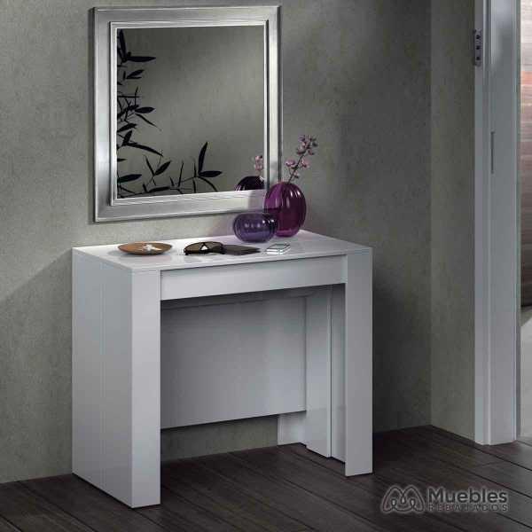 mesas de comedor modernas extensibles recibidor 004580bo