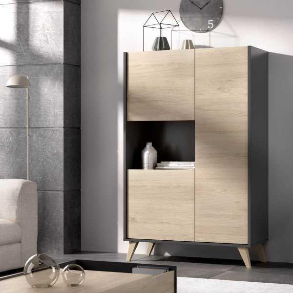 mueble alto grafito 3