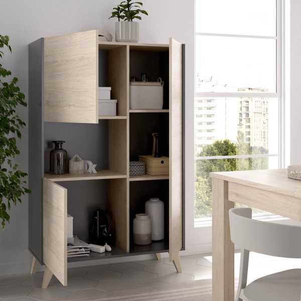 mueble alto grafito 4