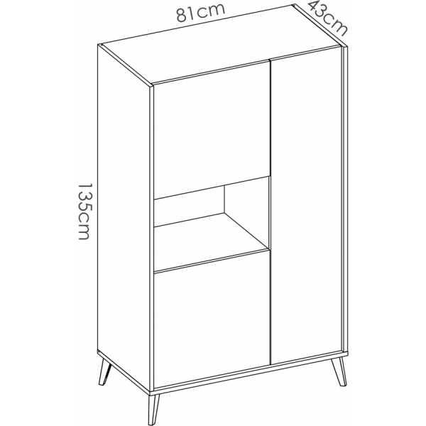 mueble alto grafito 5